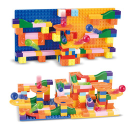 educational products Australia - 2020 new product Children's turn the bay ball slide blocks Variety of track puzzle insert boys and girls creative educational toys