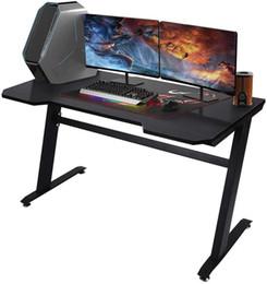 """США на складе 47.2 """"Компьютерный стол домашний игровой стол офис письма рабочая станция space-easy легко собрать черный w20615682 на Распродаже"""