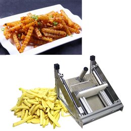 cutter manual NZ - 2020,CE manual potato chip cutter, stainless steel corrugated fries cutter, corrugated blade potato carrot machine