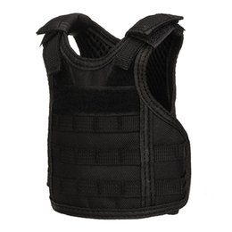 unique vests NZ - Tactical Design Bottle Mini Vest Adjustable Durable Unique Camping Accessory