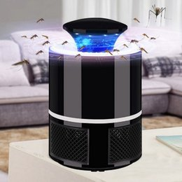electronic bug repellent Australia - USB Electronic Mosquito Killer Lamp Trap Bug Fly Catcher Insect Pest Control Zapper Repeller LED Light Mosquito Repellent for Living Room