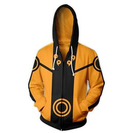 Wholesale naruto cosplay jackets for sale – custom Boruto Naruto Hoodies Jacket Men Harajuku D Hoody Akatsuki Coat Uchiha Itach Cosplay Costume Kakashi Zipper Hooded Sweatshirts