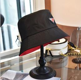 20SS New Eimer Hut für Männer und Frauen Mode Klassische Designer Frauen Nylon Hut Neue Herbst Frühling Fischer Hut Sun Caps Drop Ship im Angebot