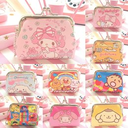 Wholesale bags snoopy resale online - Corner fried shrimp ironcoin purse big mouth Snoopy Melodie coin purse key bag wallet wallet New