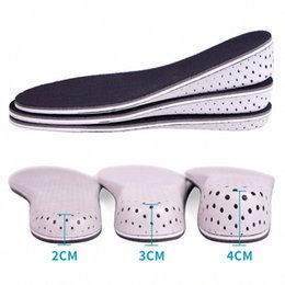 shoe lifts insoles UK - MenWomen Height Increase Insole 1PCS Comfortable 20 Women's Underwear Underwear 40CM Height Increase Elevator Heel lifts Shoe Insole I hpQU#