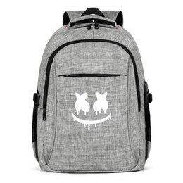 pop sport UK - Marshmello art logo Fashion Sports Backpack,Design Pop Pattern Reusable Suitable for Traveling Backpack helmet face 1 music artist