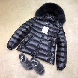 Wholesale ladies white denim jackets resale online – New high quality autumn and winter warm ladies down jacket