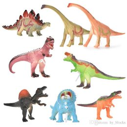 animal world toys NZ - small size simulated dinosaur blocks model toys Jurassic World Park animal world children novelty games kids puzzle toy 03