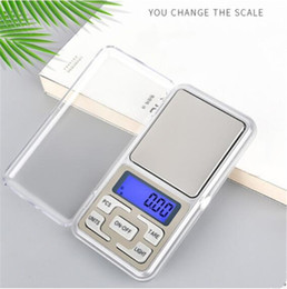 Mini Portable Electronic Scale 200g Accurate 0.01g Jewelry Diamond Scale Balance Scale LCD Display with Retail Package on Sale