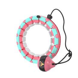 Inteligente portátil hula hoop Yoga músculo abdominal dispositivo de entrenamiento de empalme ajustable Yoga dispositivo de entrenamiento de pérdida de peso en venta