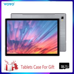 New 10.1 inch 2in1 Tablet Android Octa Core 4GB 64GB Tablet 2.3GHz 4G Phone Call Cortes-A53 Wi-Fi Bluetooth 6400mAh PC on Sale