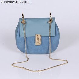 beaded blue bag NZ - 2020 new hot European American fashion Genuine Leather explosion Handbags WOMEN shoulder bag woman Handbags Shoulder bag F104