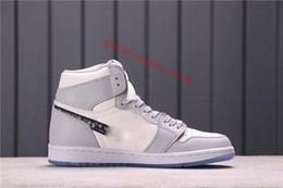 2020 Top qualité de l'air 1 Chaussures Casual Sneakers air de basket-ball en Solde