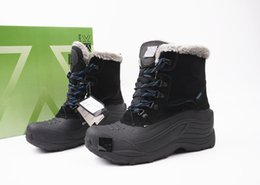 shoes liner NZ - Clearance ! Winter outdoor hiking boots women waterproof cowhide leather wool liner snow boots snow shoes for-40c Karrimor