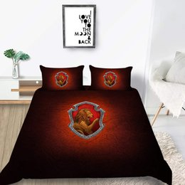 unique duvet cover sets Canada - King Size Bedding Set Fashion Cartoon Pattern Duvet Cover Queen Twin Full Single Double Unique Bed Cover with Pillowcase