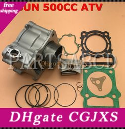 ring gaskets NZ - Hisun 500cc Hs500 Atv Quad Cylinder With Piston Ring Pin Gaskets Sets