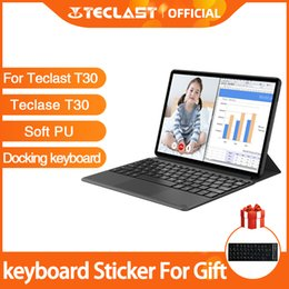 teclast keyboard NZ - Original Docking Keyboard Case For Teclast T30 keyboard for 10.1 inch Tablet PC with Stand up Function Black Protective Cover
