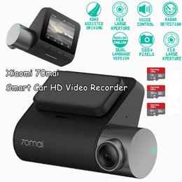 vision pro UK - New 70 mai Dash Cam Pro 1944P GPS Car DVR Cam English Voice Control 24H Parking Monitor 140 FOV Night Vision Wifi Cam