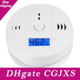 carbon monoxide alarms NZ - Co Carbon Monoxide Tester Alarm Warning Sensor Detector Gas Fire Poisoning Detectors Lcd Display Security Surveillance Safety Alarms