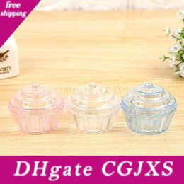 treats cupcakes UK - Clear Mini Cake Stand Cupcake Favor Candy Box Wedding Birthday Container Plastic Party Treat Food Boxes Favours Za4975