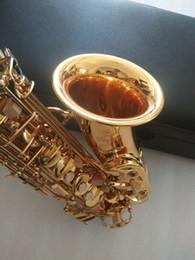 Toptan satış Ağız İle Yeni En iyi kalite Altın Alto saksofon YAS-875EX Japonya Marka Alto saksofon e-Düz müzik aleti