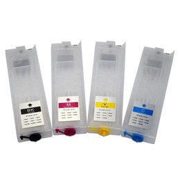Discount epson cartridge wf T948 T948xl T9481-T9484 Refillable Ink Cartridge with Chip for Workforce Pro WF-C5290 WF-C5790 WF-C5210 WF-C5710 Printer