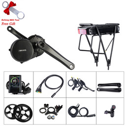 engines components Australia - BAFANG BBS01B 36V 250W EBIKE Mid Drive Crank Motor Conversion Kit With 36V 20AH Rear Rack Battery Electric Bicycle Middle Engine Components