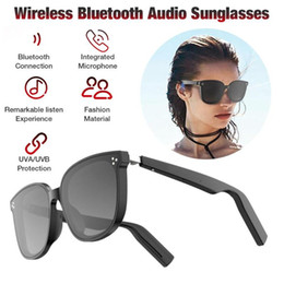 Wireless Bluetooth Audio Sunglasses Music Glasses IP67 Waterproof Open Ear Smart Glasses For Men Women on Sale