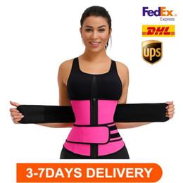 Stock, Hombres Mujeres Shorters Cinturón Entrenador Cinturón Corsé Belly Slimming Shapewear Ajustable Cintura Soporte Cuerpo Formadores de cuerpo FY8084 en venta