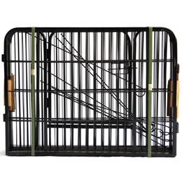 Опт Высокое качество Оптовая Дешевые Лучший Большой Крытый Металл Щенок Run Забор / Iron Pet Dog Playpen W24101525