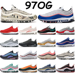 Wholesale olympics rings for sale - Group buy Mens running shoes s silver bullet triple black white south beach neon seoul LX throwback future olympic rings pack blue red sneakers