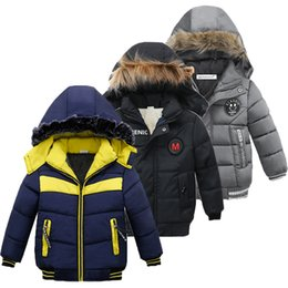 boys formal jackets Australia - Children Jacket For Boys Coat 2020 Autumn Winter Jackets For Kids Jacket Baby Warm Hooded Zipper Outerwear Coat For Boys Clothes Y200831