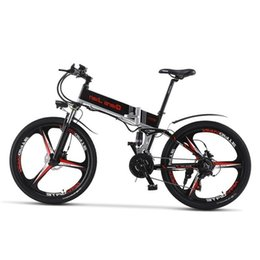 h engine Australia - 26 Inch 10.8ah 48 V Electric Bicycle Lithium Battery Electric Mountain Bike Engine Powerful 350 W Folding Bicycle
