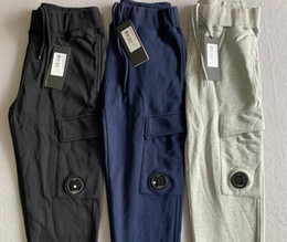 homens mais novos calças CP algodão Calça de Jogging ao ar livre tamanho calças desportivas M-XXL de alta qualidade em Promoção