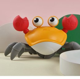Hot Sale Bath Toys Big Crab Clockwork Baby Infant Water Classic Toy Beach Toys For Baby Drag Baby Bath Tub Summer Toys For Kids on Sale