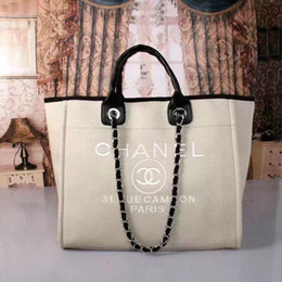 New- travel fold ladies large-capacity beach storage handbag outdoor shoulder bag stuff bag 0123 on Sale