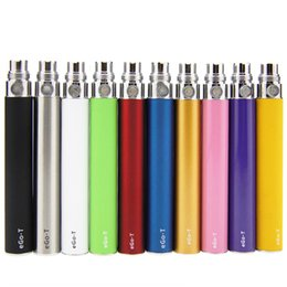vape atomizer types Australia - 3 Types Capacity Optional eGo T Adjustable Voltage Battery Rechargeable for Atomizer 510 Thread Vape Cartridges Shipping Fast