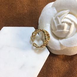 D familie 2020 neue luxus designer cd letter öffnen einstellbar ring net promen fashion mode material im Angebot