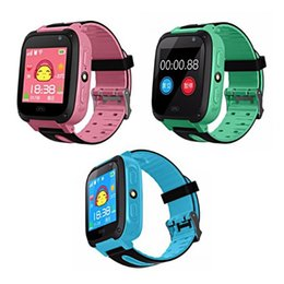 Wholesale best android watches for sale - Group buy Smart Watch For Kids Q9 Children Anti lost Smart Watches Smartwatch LBS Tracker Watchs SOS Call For Android IOS Best Gift For Kids