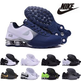 cheaper running shoes UK - Cheaper New Deliver 809 Men Air Running Shoes Drop Shipping Wholesale Famous DELIVER OZ NZ Mens Athletic Sneakers Sports Running Shoes 40-46