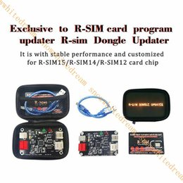 r sim for iphone UK - Cgjxs R -Sim Dongle Updater Smart Unlock Card Upgrading Kits For Iphone 11 Pro Max  11  Xs Max  X  6  7  8