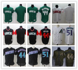 jake-shirt großhandel-Individuelle Diamondbacks Paul Goldschmidt Baseball Shirt Randy Johnson Jake Lamb Zack Greinke Descalso