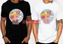 Новая Grateful Dead Europe 72 Ice Cream Top Известный логотип Mens T-Shirt