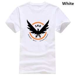 Wholesale rogue t shirt for sale – custom The Division Tshirt for Men Pure Cotton T Shirt SHD Tom Rogue Redux Last Light Epic Game Oversized
