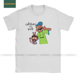 Ingrosso Carlton e Will principe di Bel Air T-shirt Will Smith Commedia TV Show Cotton Vintage T O manica corta T Shirt