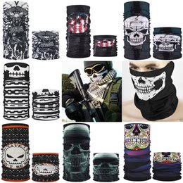 Wholesale free cams online – design Z7A0S Wind National Skull Magic Riding Mask Outdoor Er Camouflage Wind National Flag Skull Magic Scarf Flag Riding Mask Outdoor Er Cam