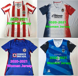 Discount soccer jersey girls 2021 MEXICO WOMEN Soccer Jersey FEMALE CHIVAS monterrey girl woman 20 21 liga MX CRUZ AZUL Football Shirts UANL UNAM maillot camesita