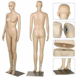Toptan satış 69 inç Kadın Manken Tam Vücut Elbise Formu Terzi Soyunma Modeli Manken 2020Props Her türlü Giyim Pencere Ekran Uygun W38112734
