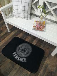 Interiores Mat Moda suave quarto Mats Imprimir Carta tapete antiderrapante banheiro Tapetinhos de 50 * 80cm acessórios do banheiro em Promoção