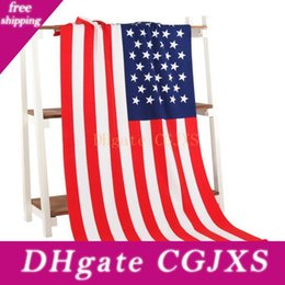 Wholesale swimwear free shipping europe for sale – plus size Summer Beach Towel cm Towel Drying Washcloth Swimwear Shower Towels National Flag Usa Uk Canada Flag Hundred Dollar